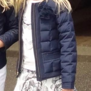 CREWCUTS 🎠NAVY BLUE DOWN QUILTED PUFFER